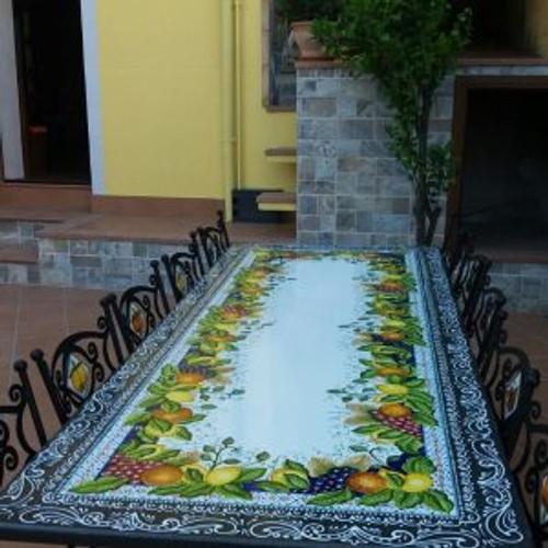 Harvest Lava Table, custom designs available