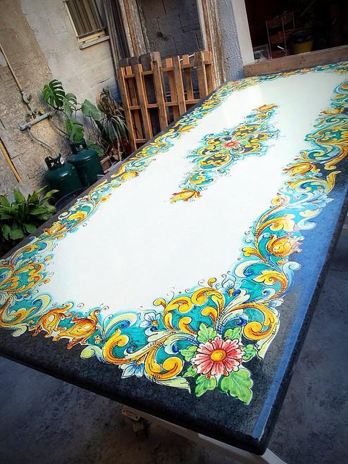 Bella Flora Lava Table, custom designs available