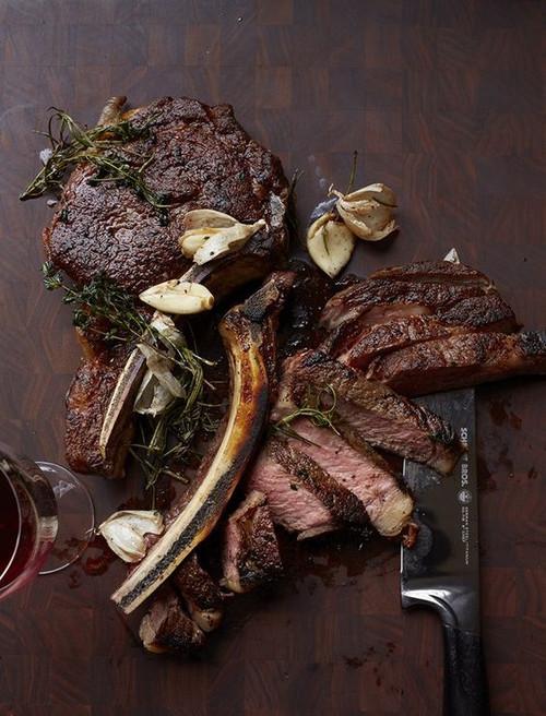 Wagyu Beef Tomahawk Steaks, 4 pieces, 30-32 oz ea