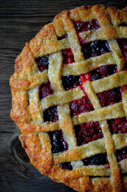 Old Fashioned Sangria Pie - (Free Recipe below)