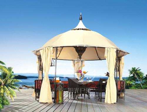Luxury Sunnyside Gazebo - custom sizes, colors available