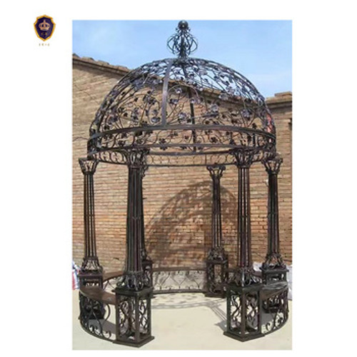 Scroll Dome Gazebo - custom sizes, colors available