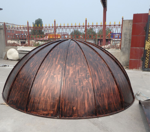 Steel Dome Gazebo Top - custom sizes, colors available