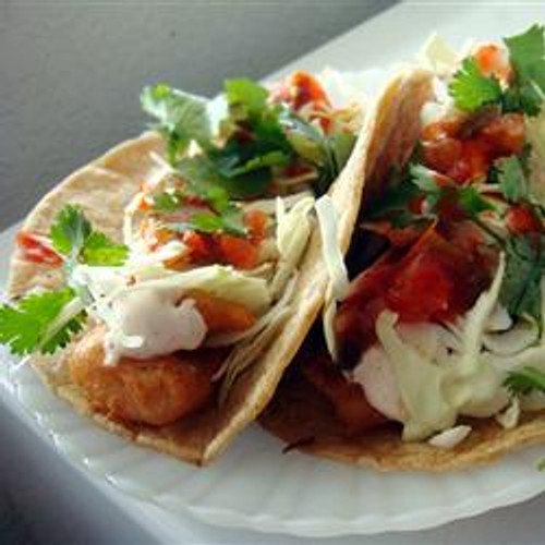 Beer Battered Fish Tacos - (Free Recipe below)