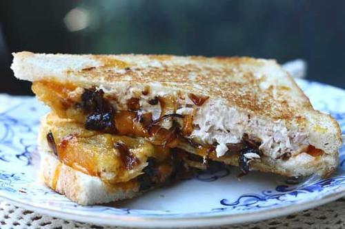 Jazzed Up Tuna Melt - (Free Recipe below)