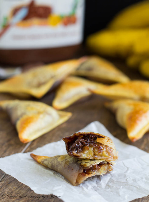 Banana Nutella Wontons - (Free Recipe below)