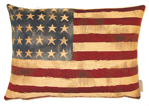 American Flag Pillow - other countries available