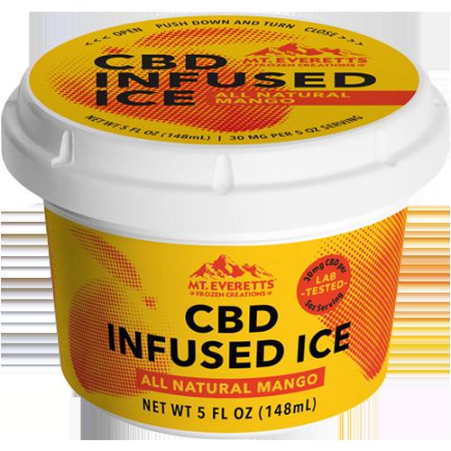CBD Mango Ice - Italian Ice