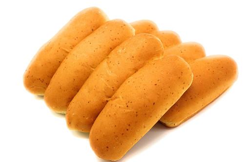 Organic Beautiful Hotdog Buns - 8 pk