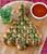 Christmas Tree Pull-Apart Bread - (Free Recipe below)