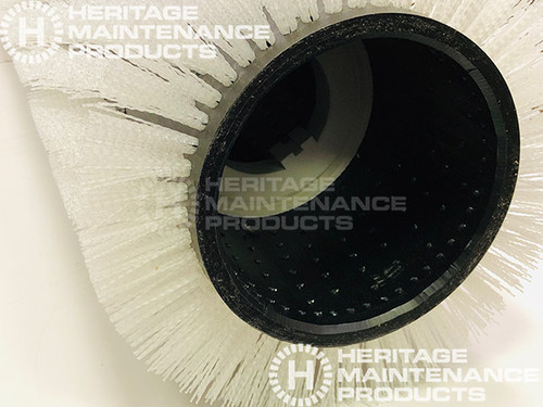 "16/"" .028/"" D Nylon Scrub Brush For Scrubbing Polished Flooring PowerBoss 313136"
