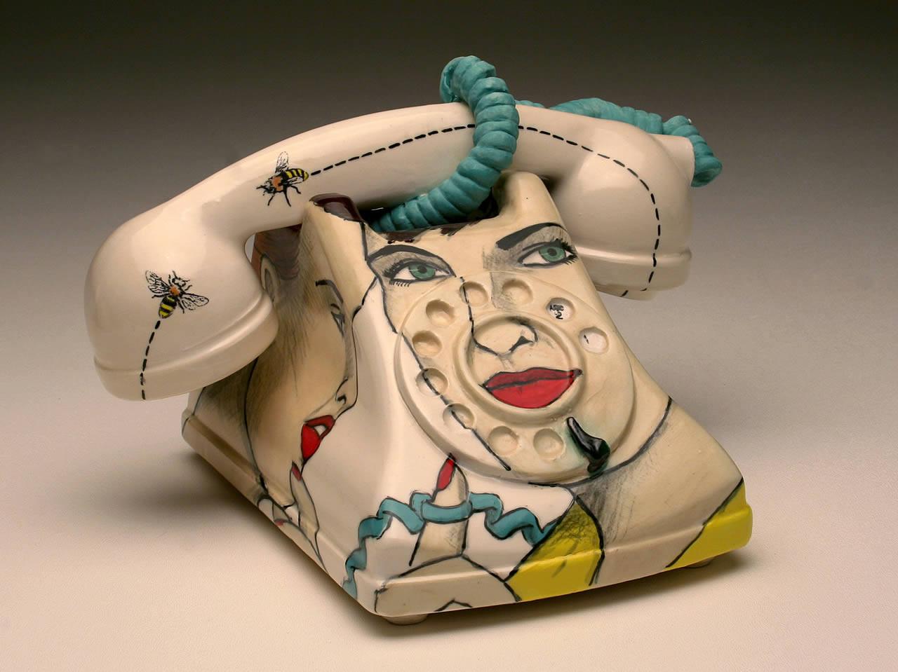 Telephone: Tangled (blue cord)