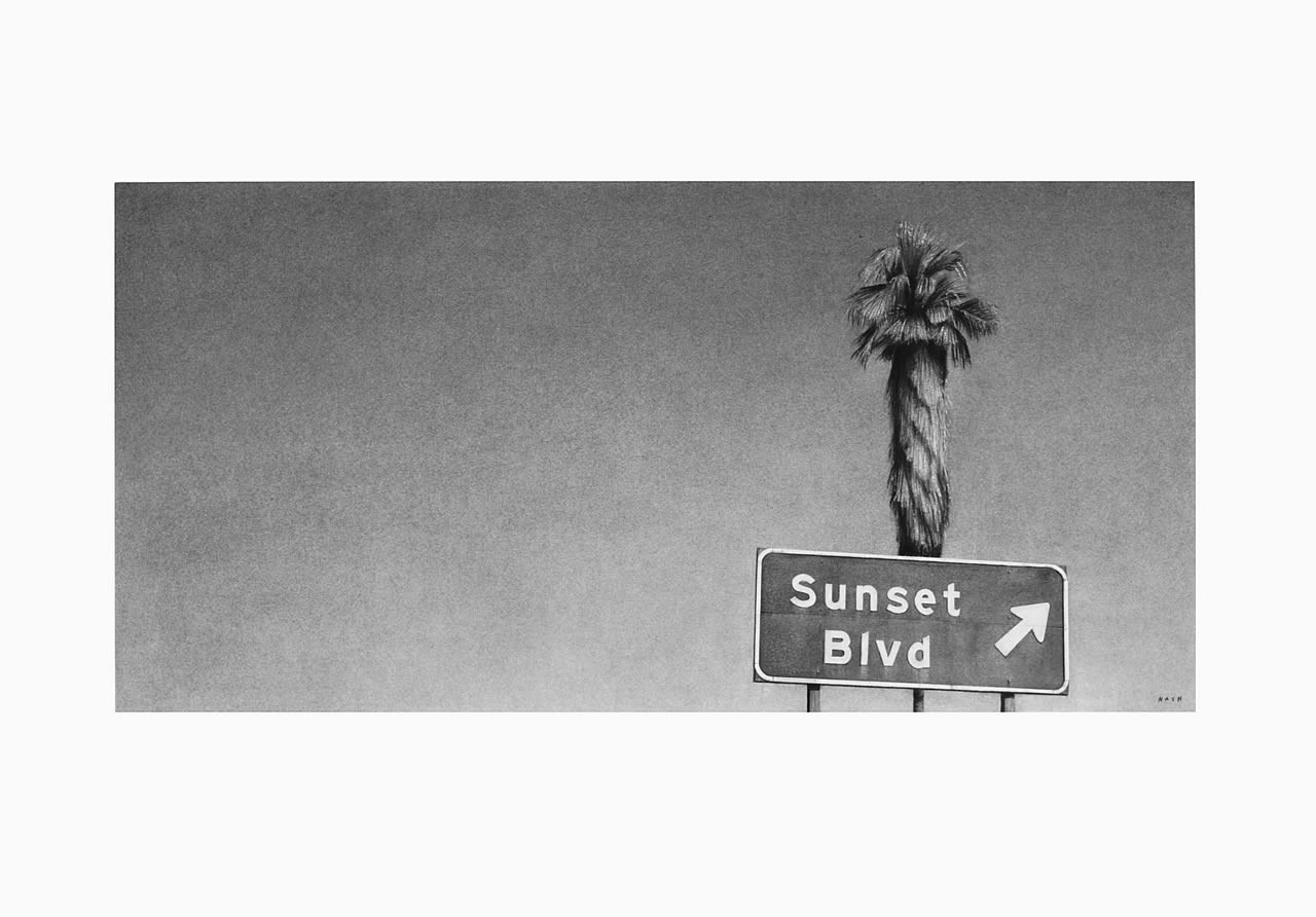 Sunset Blvd with Palm