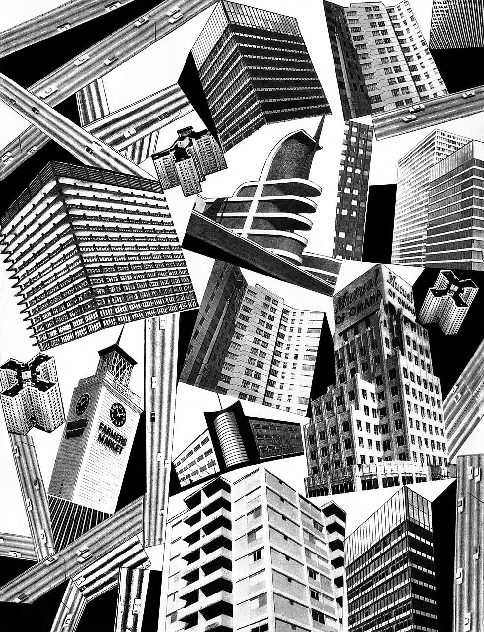 Midtown Black and White