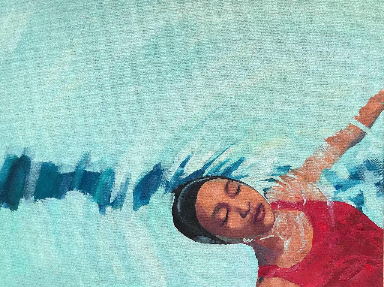 Floating Swimmer