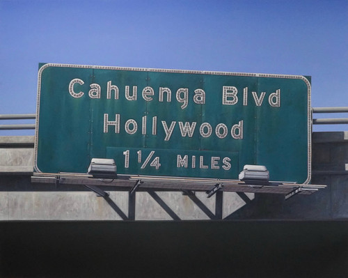 view Cahuenga Blvd Hollywood