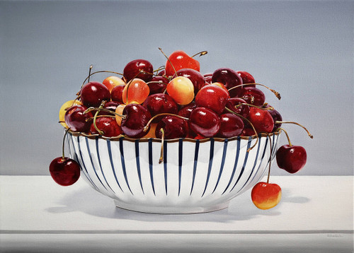 view Bowl of Cherries