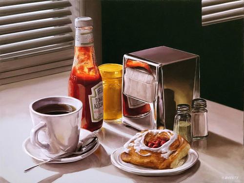 view Coffee and Danish