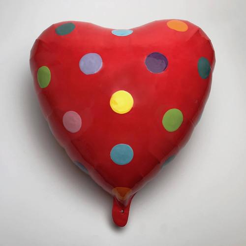 Nina Jun Art   Ceramic Sculpture   Mylar Balloons   Korea - USA