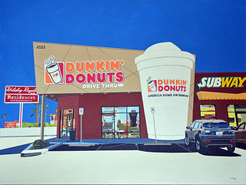 view Dunkin Donuts