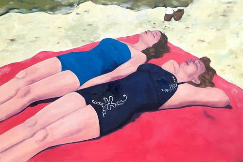 view Sun Bathers