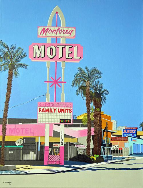view Monterey Motel, Las Vegas