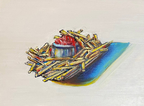 view Fries with Ketchup