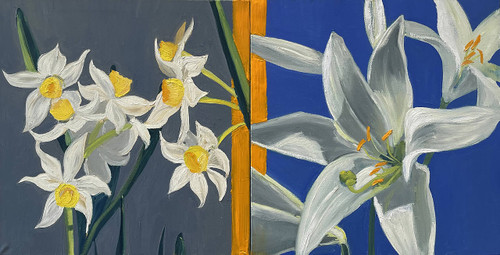view Daffodils and Lilies