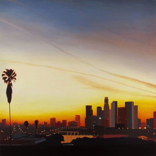 view #downtown #sunset #losangeles #dtla