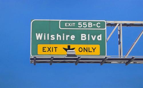 view Wilshire Boulevard
