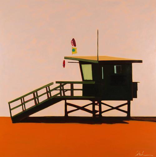 view Lifeguard Station at Dusk