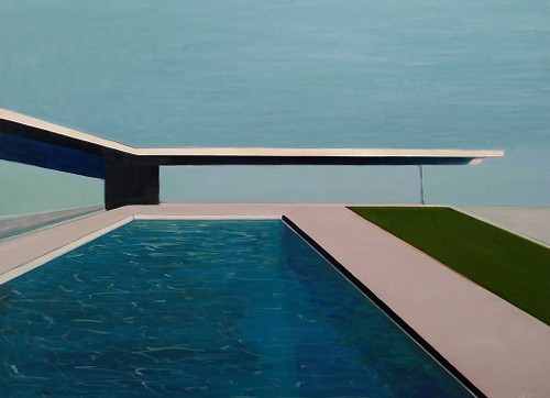 view Case Study House #22 with Turquoise Water