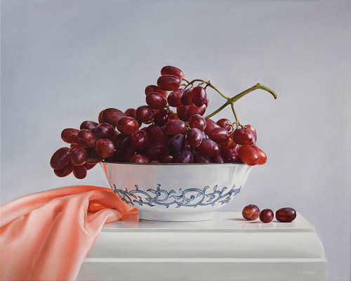 view Bowl of Grapes