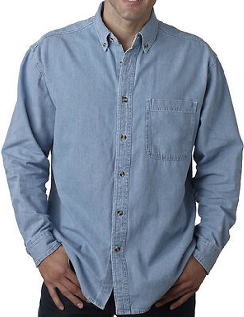 big and tall near me Light Blue Denim 3X