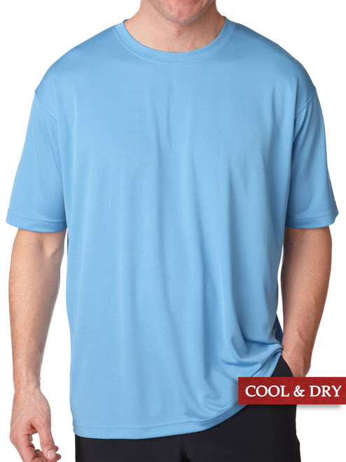 big and tall workout clothes light blue 5X