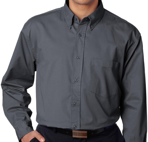 big and tall dress shirts Charcoal 5X