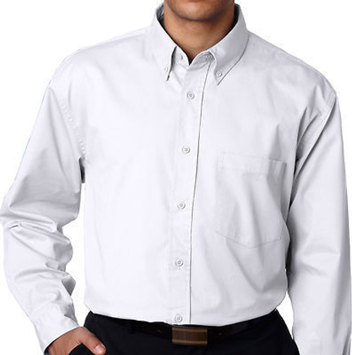 big and tall dress shirts White 3X