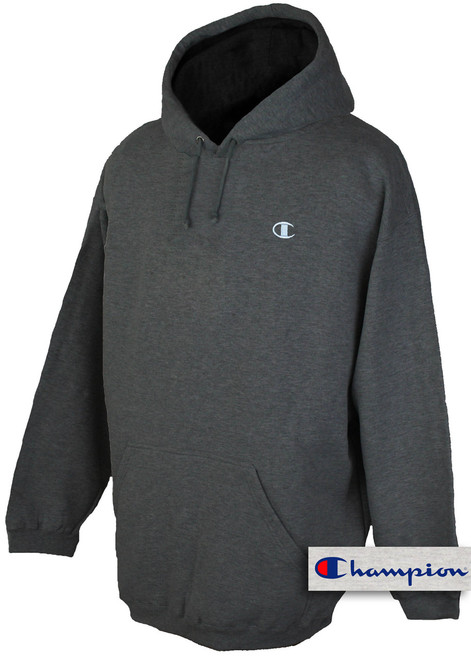 plus size mens clothing Charcoal 5X Hoodie