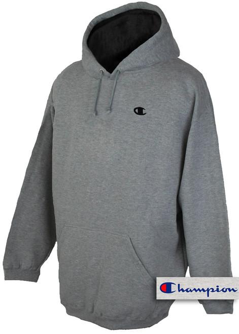 plus size mens clothing Gray 5X Hoodie