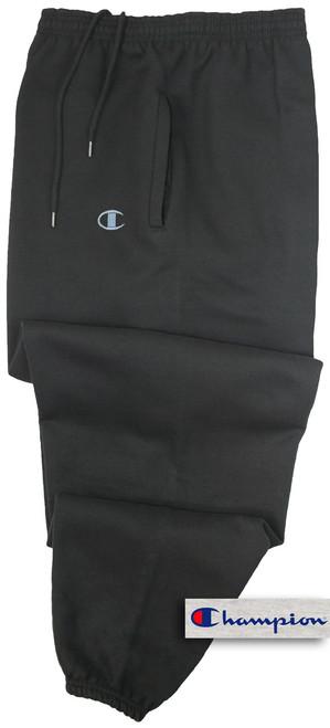 Champion BLACK Sweat Pants 6XL #512A