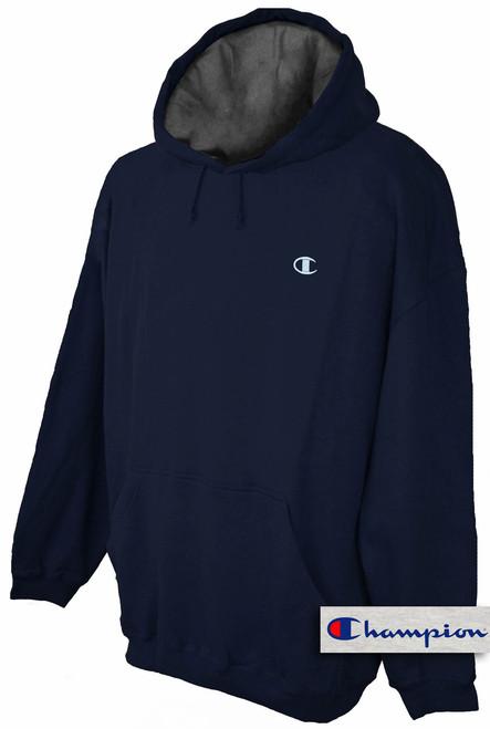 plus size mens clothing Navy 5X Hoodie