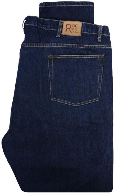 ROCXL Fixed Waist Jeans DARK BLUE