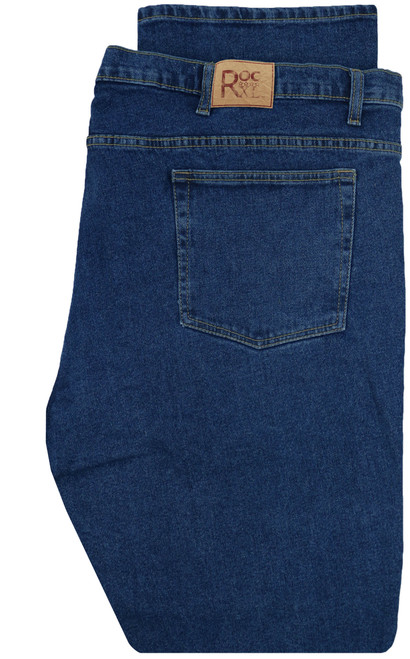 ROCXL Stretch Denim Jeans MEDIUM BLUE