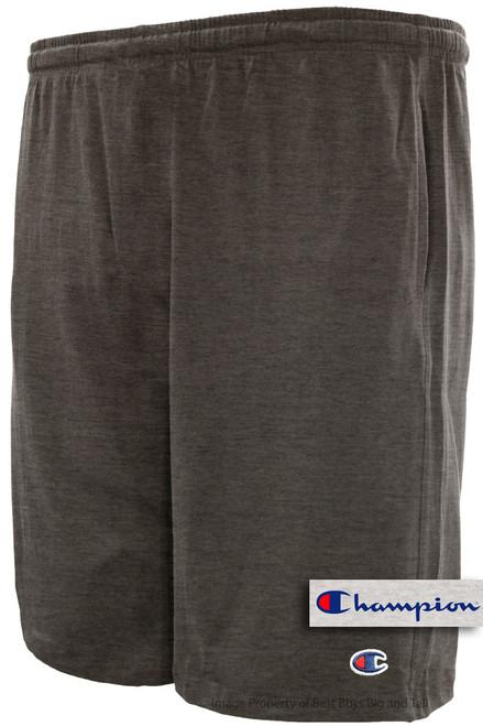 Dark Gray Champion Lightweight Cotton Jersey SHORTS