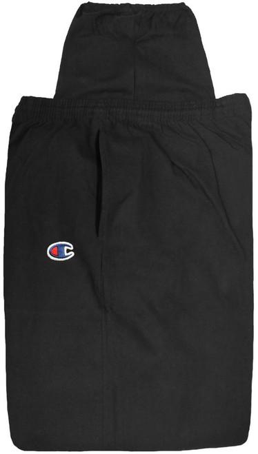 Champion Lightweight Cotton Jersey PANTS Black 3XL - 6XL #476A