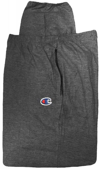 Champion Lightweight Cotton Jersey PANTS Charcoal  4XL #476C