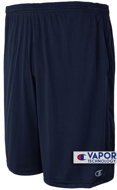 Champion Vapor Tech Athletic Shorts Moisture Wicking Navy 5XL #675B