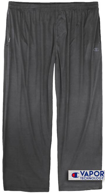 Champion Vapor Tech Athletic PANTS 4XL 6XL Moisture Wicking - Dark Gray #686C