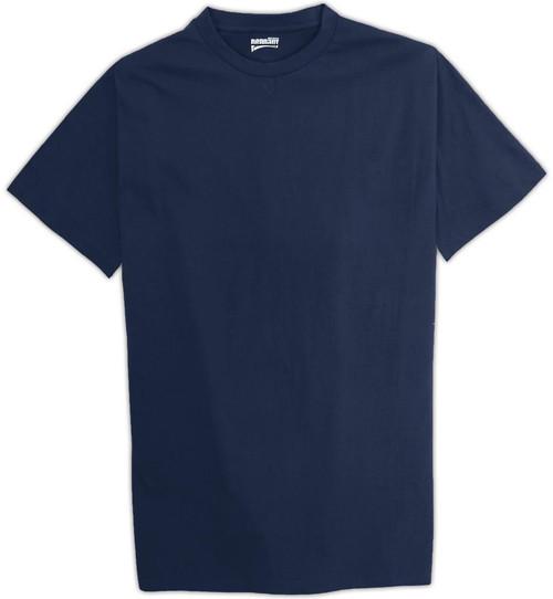 Tall Men's Pennant Cotton T-Shirt XLT Navy #201B OVERSTOCK