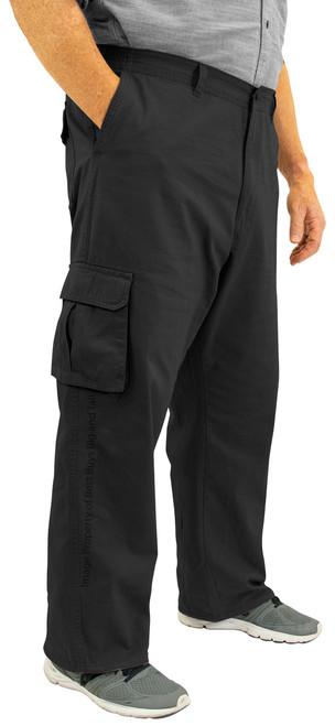 ROCXL Black Cargo Pants